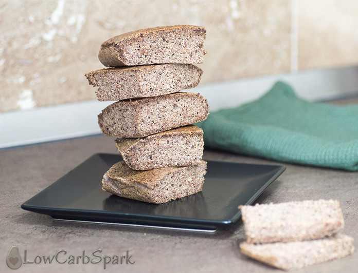 flaxseed meal keto bread