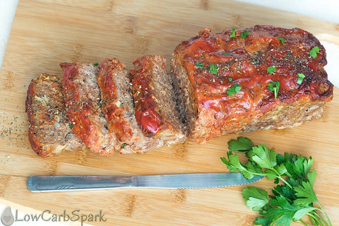 You have to try this easy keto meatloaf recipe that's delicious moist and perfect for a weeknight dinner.
