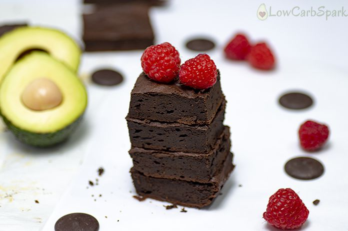 Healthy Chocolate Avocado Brownies Recipe - Keto & Paleo