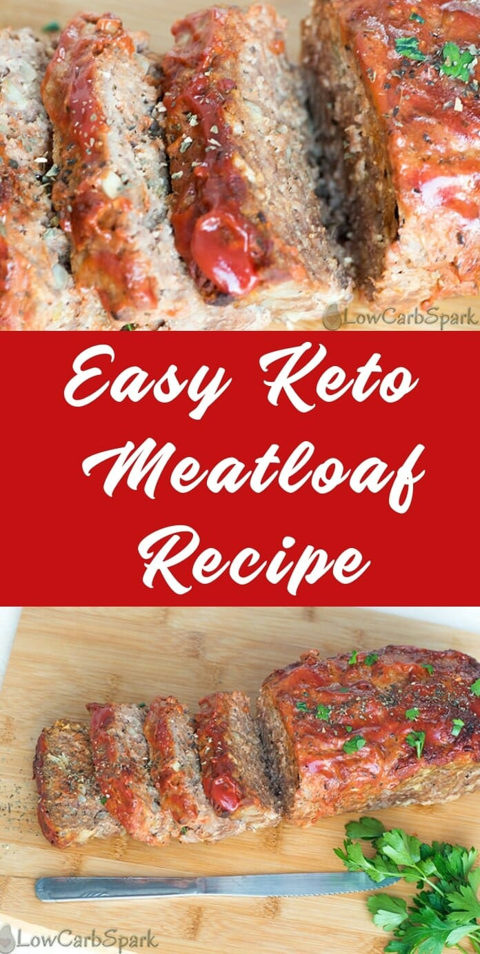 How to make a low carb keto meatloaf recipe