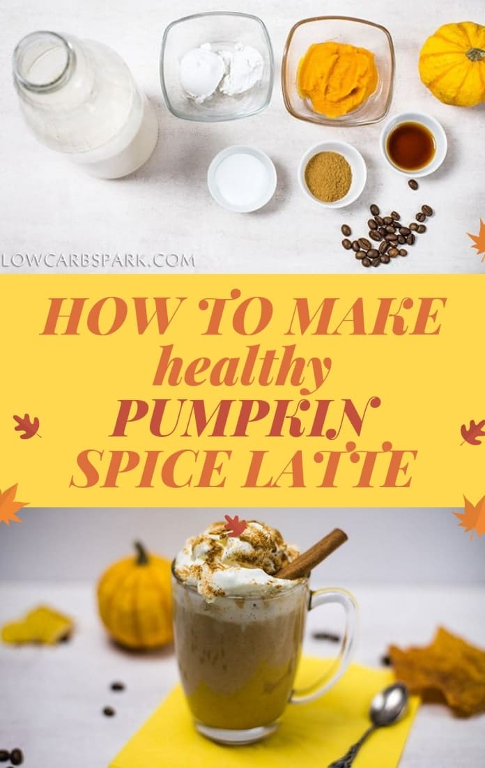 Learn how to make healthy pumpkin spice latte
