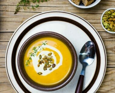 Simple Creamy Pumpkin Soup Recipe