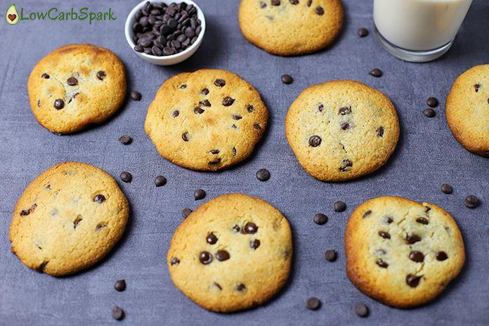 keto chocolate chip cookies low carb cookies