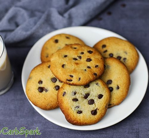 The Best Keto Chocolate Chip Cookies Only 2g Carbs Low Carb Spark