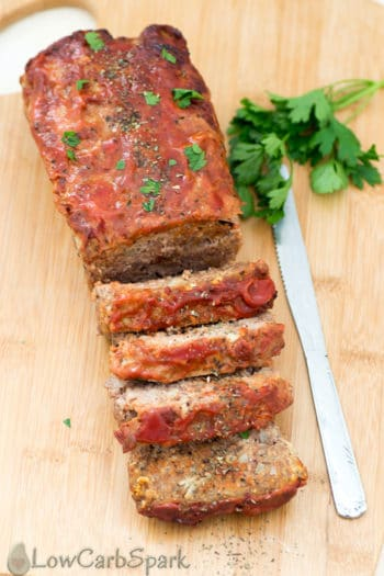 Easy Keto Meatloaf Recipe – Low Carb   Paleo
