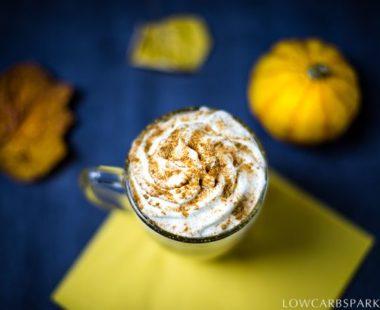 Healthy Keto Pumpkin Spice Latte – Vegan & Dairy-Free