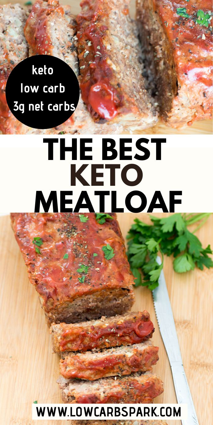 Easy Keto Meatloaf Recipe - Low Carb | Paleo