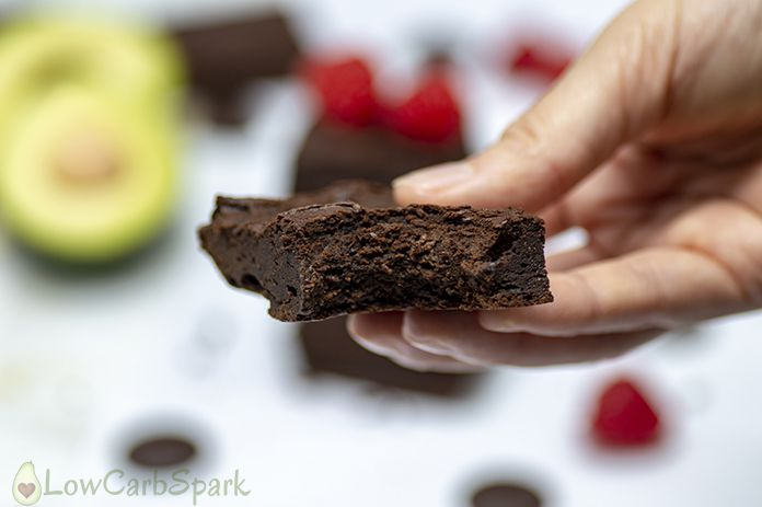 tips for the healthy avocado brownies