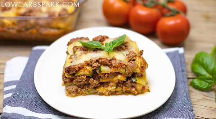 zucchini lasagna keto recipe