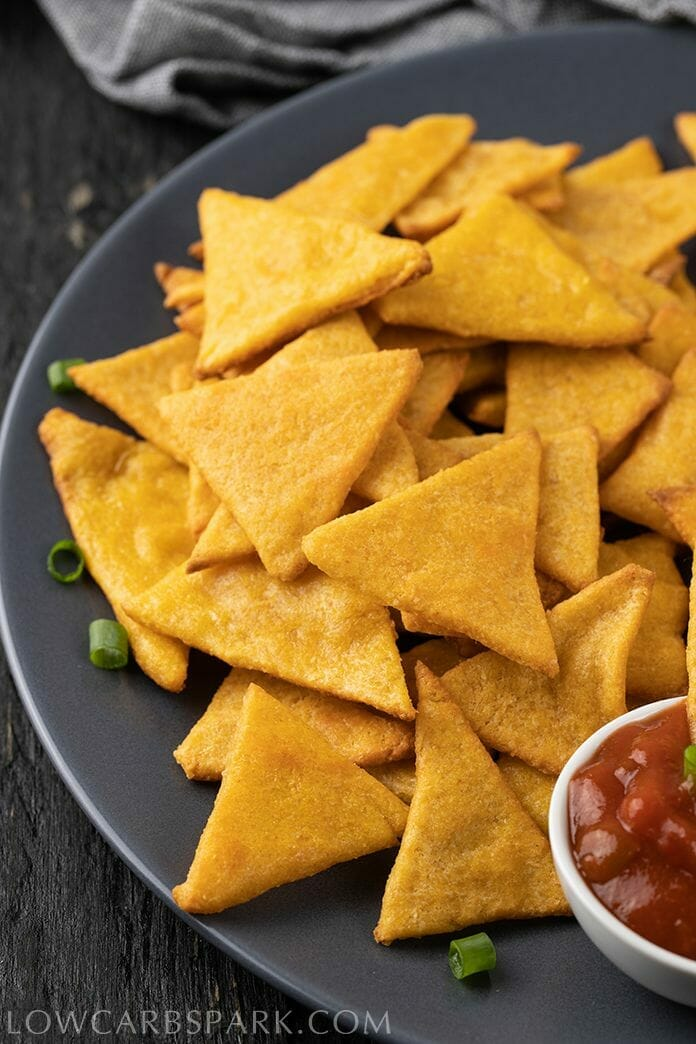 How to make keto low carb tortilla chips perfect
