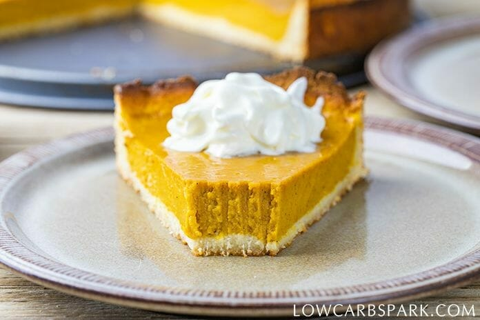 The Ultimate No-Fail Low Carb Keto Pumpkin Pie
