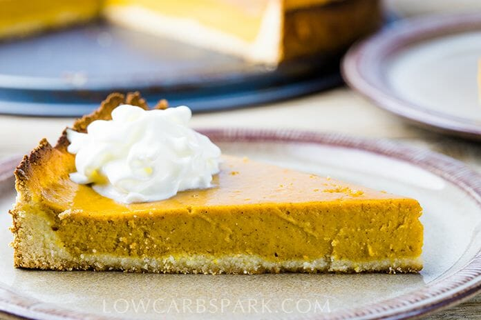 how to make a keto pumpkin pie recipe