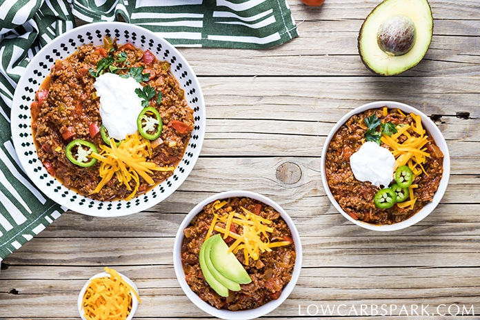 how to make keto low carb chili