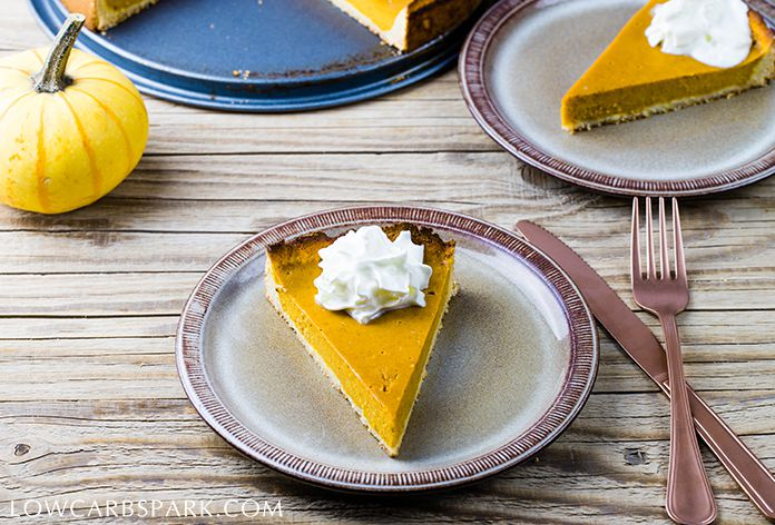 keto pumpkin pie recipe low carb dessert