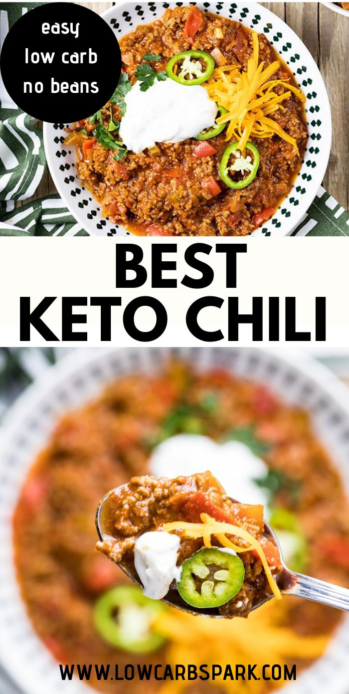 Best Low Carb Keto Chili