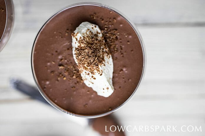 chocolate mousse keto