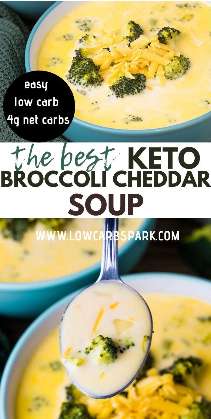 Keto Broccoli Cheese Soup - Low Carb Panera Copycat