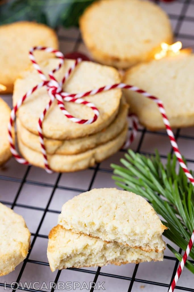 low carb keto sugar cookies