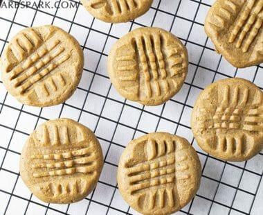 Easy 3 Ingredient Keto Peanut Butter Cookies – Low Carb & Sugar-Free