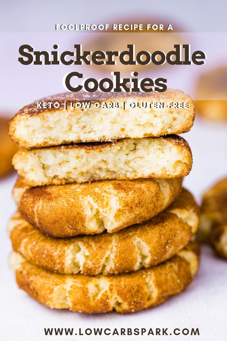 The Best Keto Snickerdoodle Cookies 2g Net Carbs Low Carb Spark