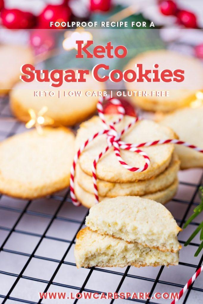 keto sugar cookies pinterest recipe
