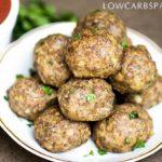 keto meatballs classic recipe