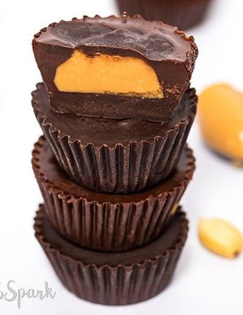 Low Carb Keto Peanut Butter Cups – 4 ingredients