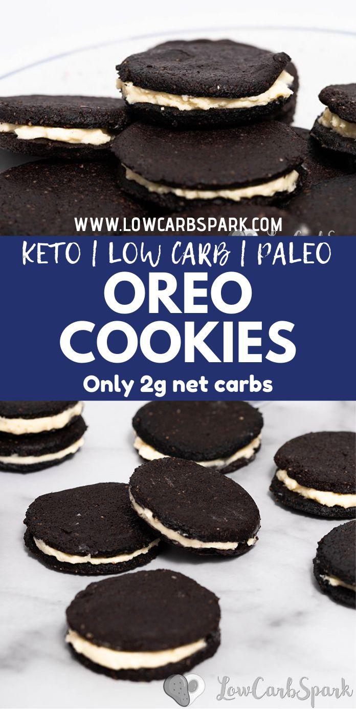 Easy Homemade Low Carb Keto Oreo Cookies