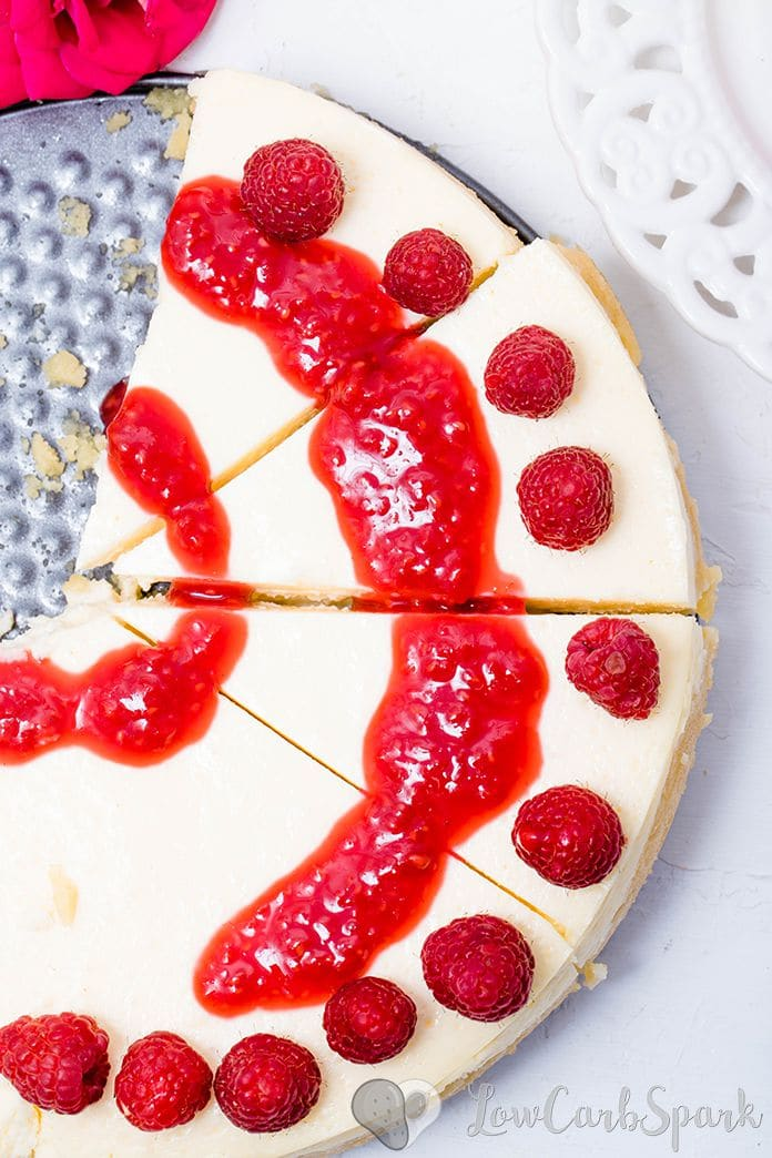 This Keto Cheesecake is the creamiest, smoothest, easiest, silkiest, dessert