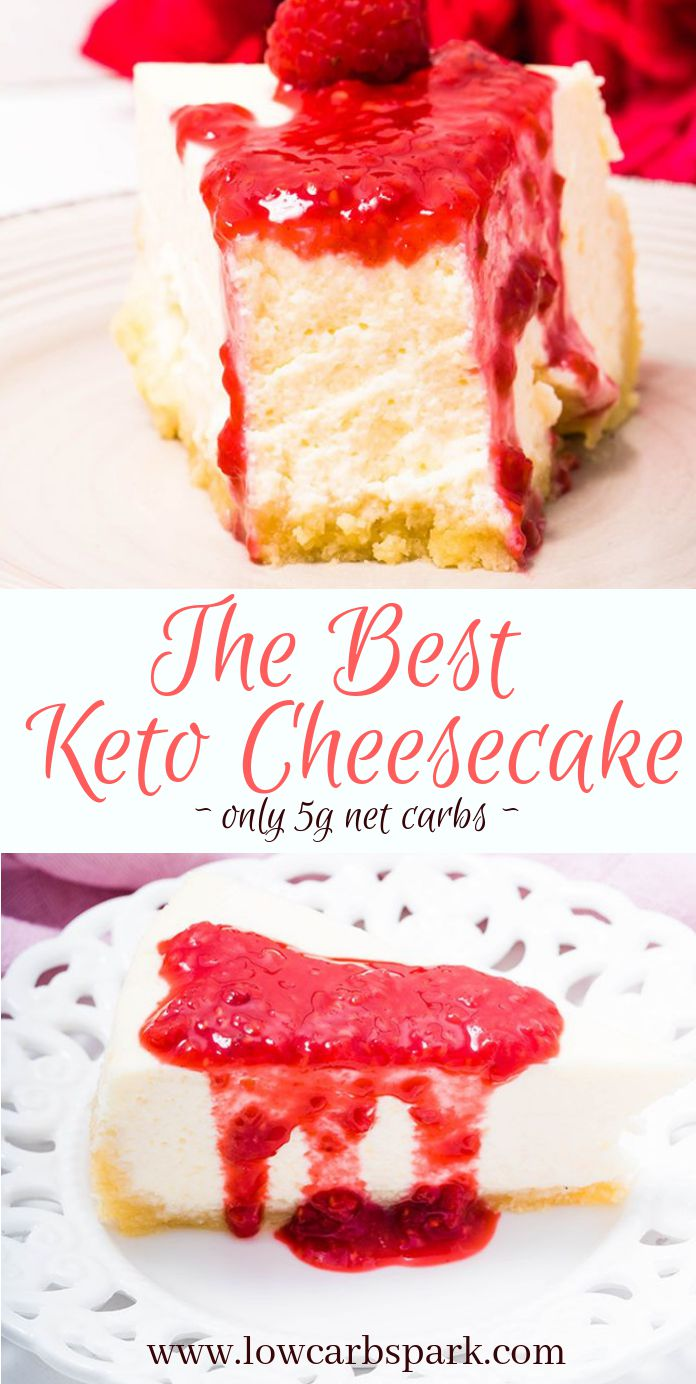 The Best Keto Cheesecake Recipe - Creamy & Dreamy