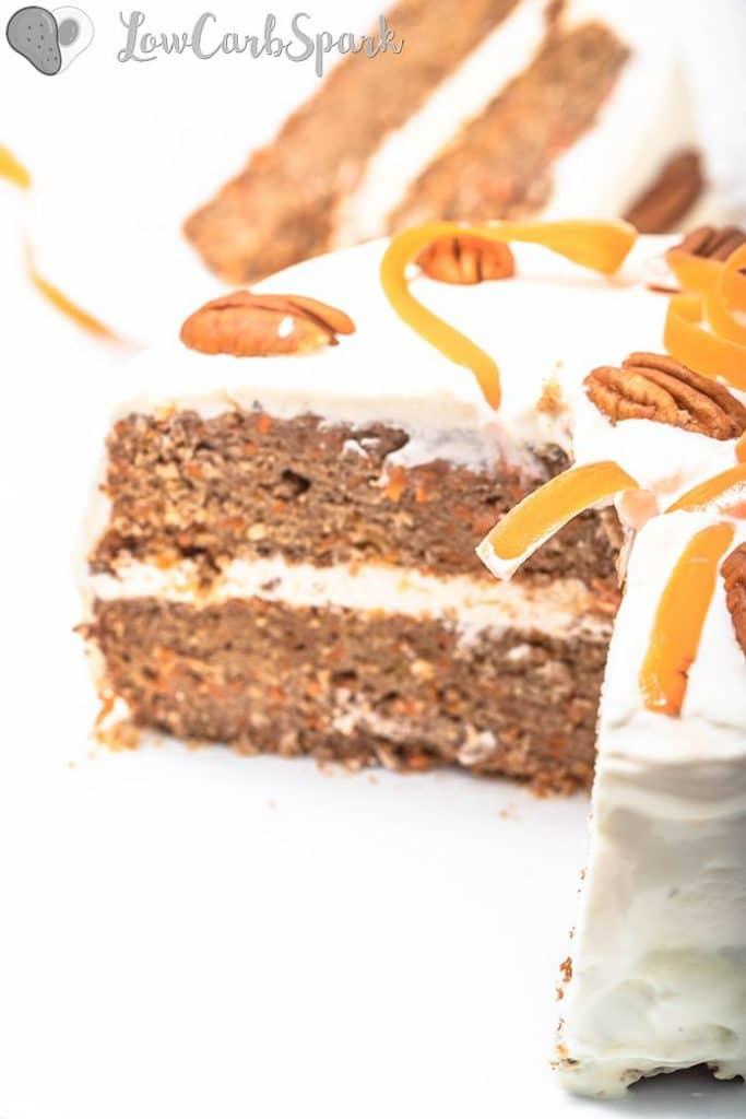 How to make keto carrot cake - the easiest recipe!