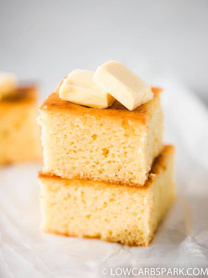 low carb cornbread with almond flour