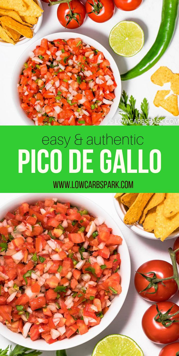 Pico De Gallo is a Mexican classic tomato dip also named \
