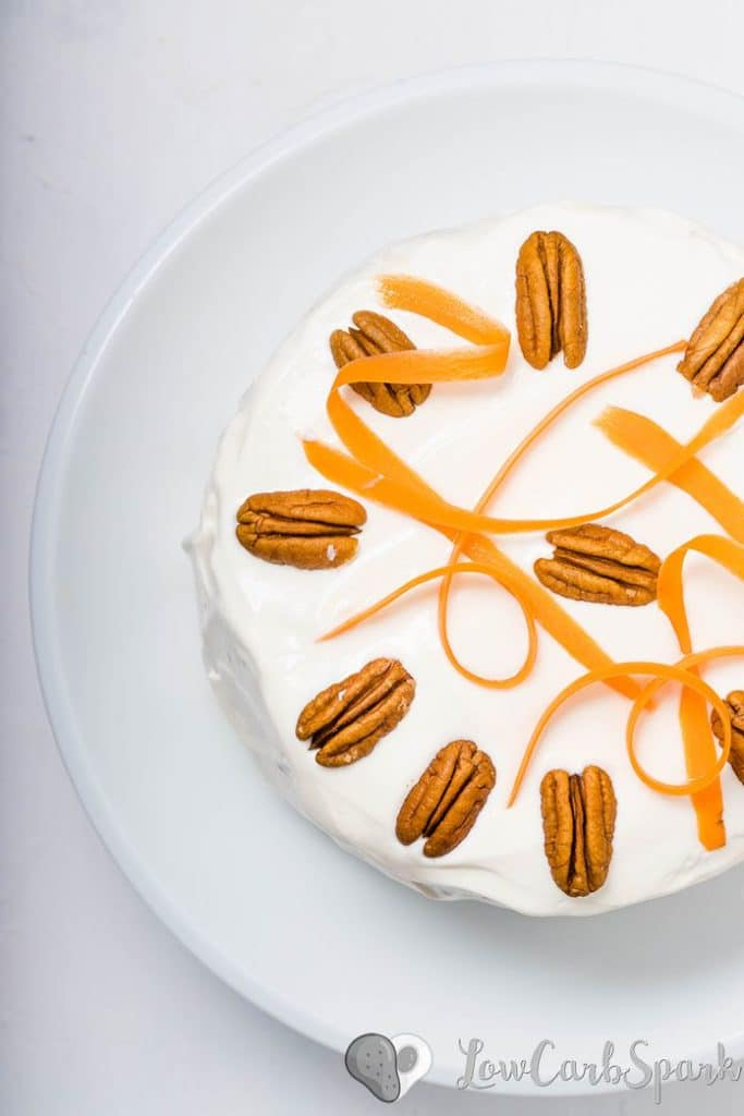 keto carrot cake recipe that is super easy to make