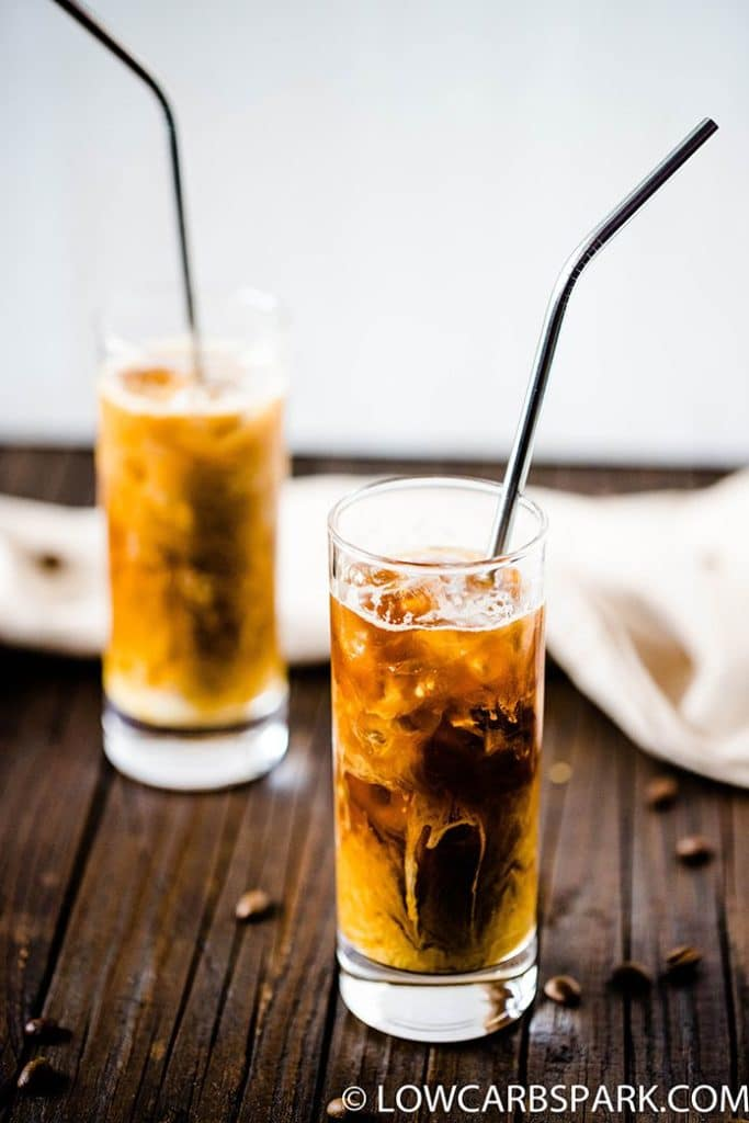 how to order iced coffee at starbucks