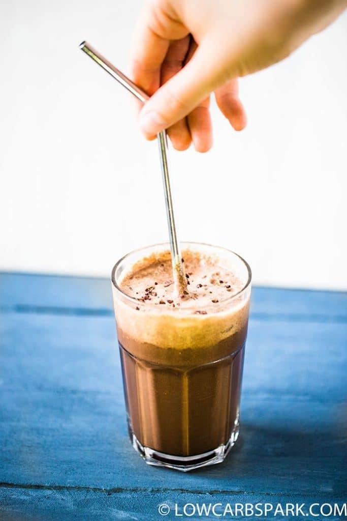 keto chocolate smoothie