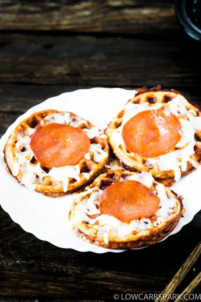 pizza chaffles recipe