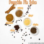Make pumpkin pie spice with just five ingredients: cloves, cinnamon, allspice, nutmeg, ginger. This spice mix is super flavorful and perfect for fall pumpkin pies and other delicious desserts.