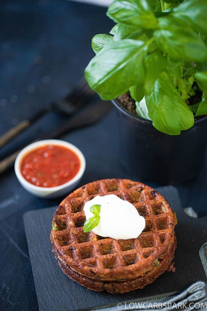 Spinach & Ricotta Chaffle