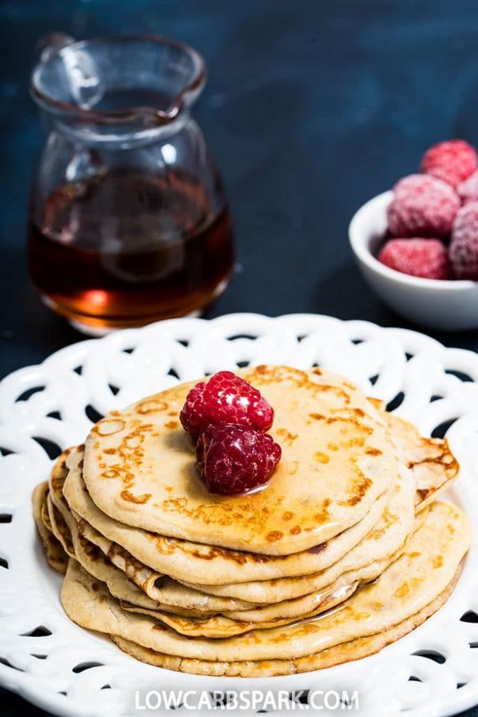 easy breakfast keto low carb pancakes