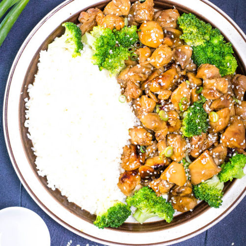 how to make chicken with Teriyaki Sauce? This keto teriyaki chicken is a super easy chicken recipe ready in 20 that everyone loves. Beautifully roasted chicken tossed with an incredibly delicious keto sugar-free teriyaki sauce.