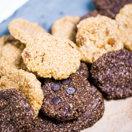 easy no bake keto cookies