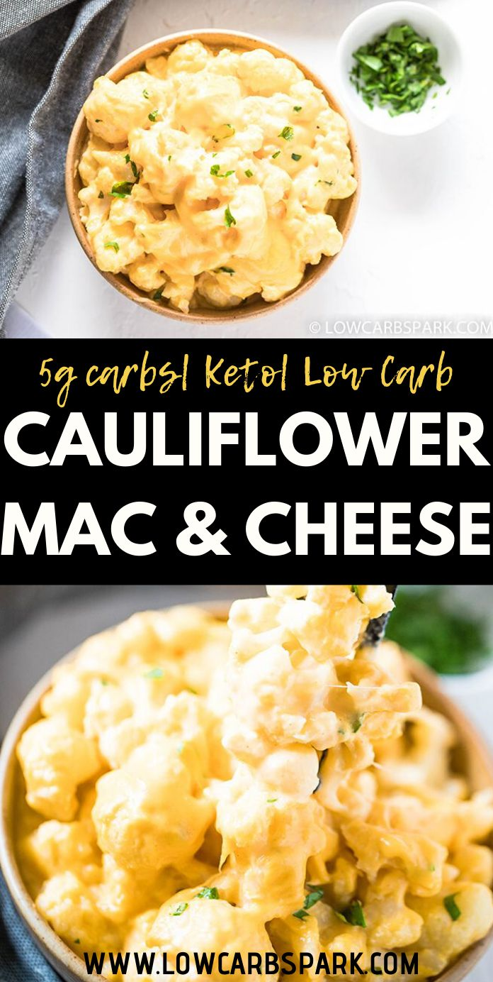 This is the BEST Cauliflower Mac and Cheese and is a family favorite, children approved. It uses cauliflower in place of pasta, a super creamy sauce made if a combination of cheeses, and a mix of spices to enhance the taste. It\'s definitely the ultimate rich and creamy cauliflower recipe that\'s super comforting, easy to make, and perfect for dinner or as a festive side dish.