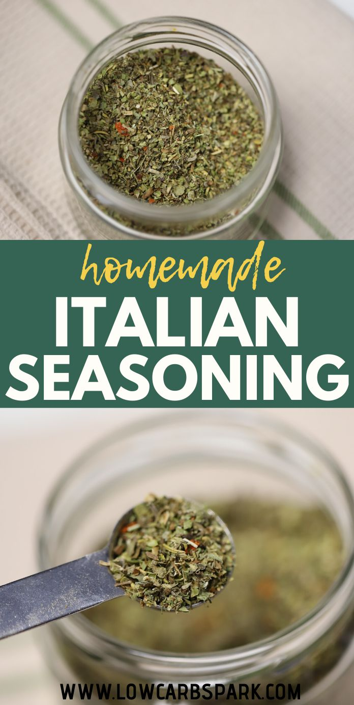 Easy Homemade Italian Seasoning Recipe