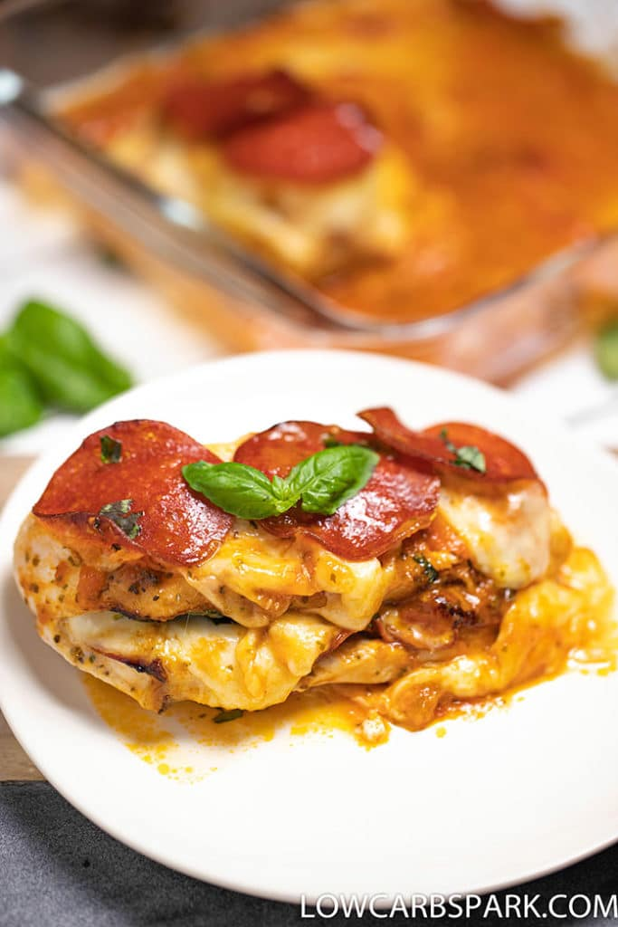 how to make pizza chicken low carb recipe