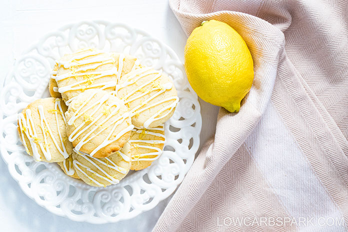 These cookies are great topped with this creamy lemon frosting that's a breeze to make and turns them into fancy gluten-free cookies.