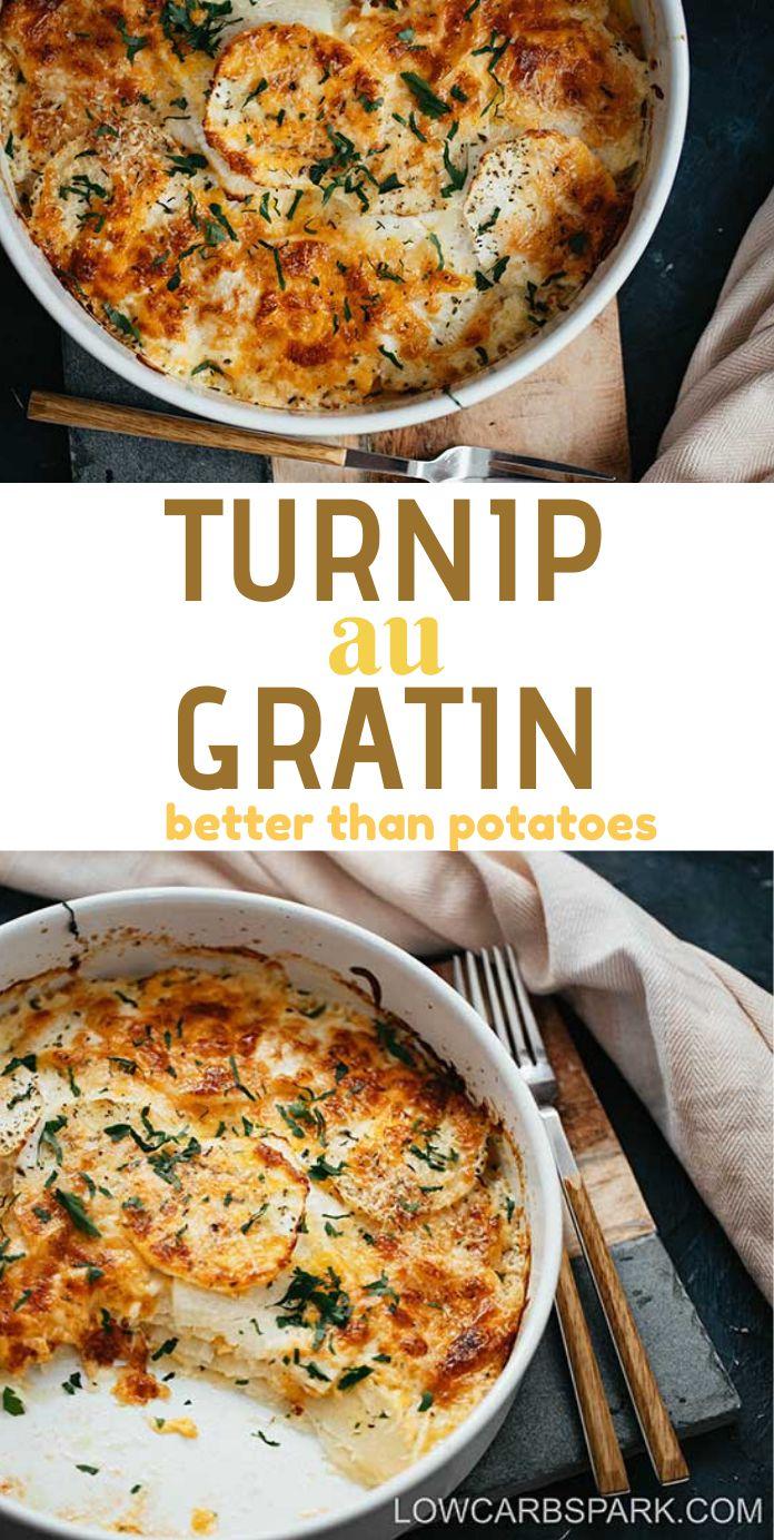 Turnip au Gratin – Better than Potatoes