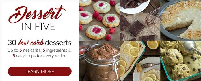Desserts in Five