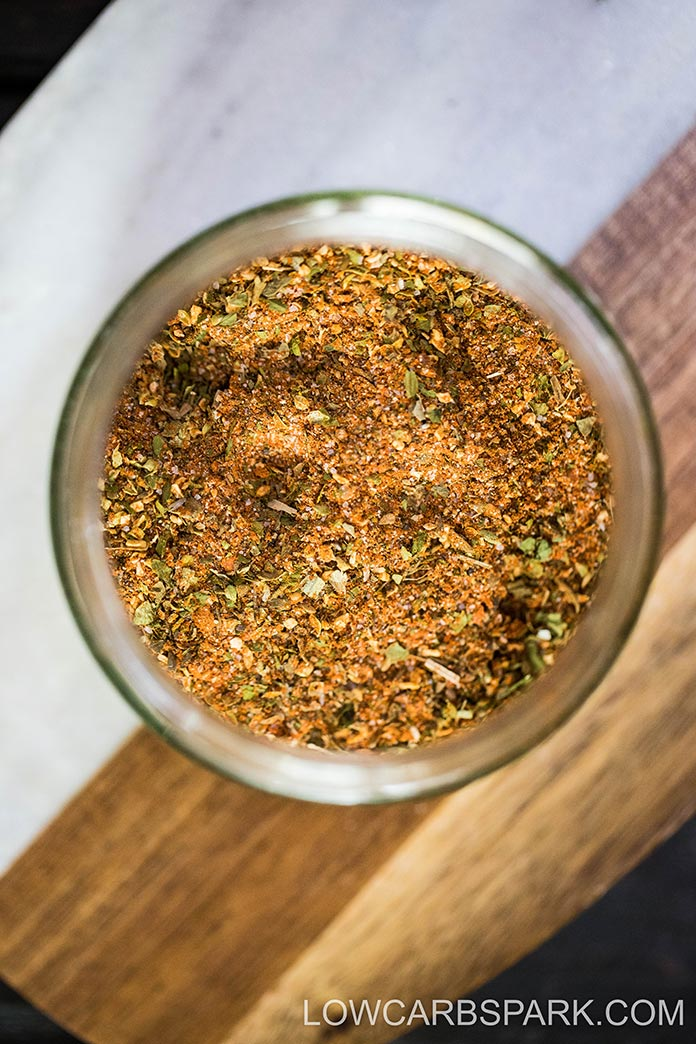 The best chicken seasoning is a mixture of 11 spices and herbs that add delicious flavor. This recipe can be stored for up to six months in an airtight container. Us it for grilled, roasted, boiled, air-fried chicken.