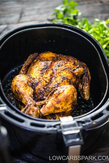 Juicy Air Fryer Whole Chicken